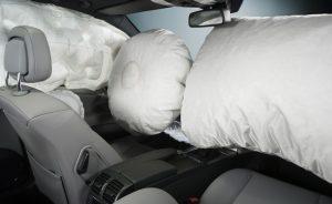 Vystrelené airbagy